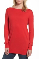 Halogen Women's Boatneck Tunic Sweater