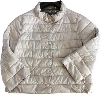 Marella Ecru Polyester Coats
