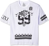Southpole Men's Big and Tall Short Sleeve Graphic Tee with Logo Over 99 Graphics