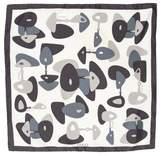Gucci Printed Silk Pocket Square