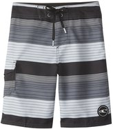 O'Neill Boys' Santa Cruz Stripe Boardshort (820) - 8154785