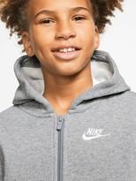 Nike Sportswear Older Boys Club Full Zip Hoodie