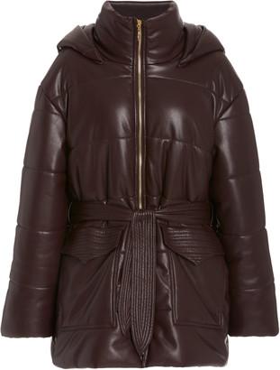 Nanushka Lenox Hooded Puffer Coat