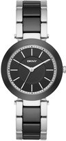 DKNY Women's Stanhope Two-Tone Stainless Steel and Ceramic Bracelet Watch 36mm NY2499