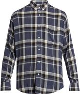 Ami Long-sleeved plaid shirt