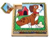 Melissa & Doug Kids Toy, Pets Cube Puzzle