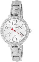 Betsey Johnson Women's Crystal Bracelet Watch