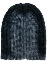 Avant Toi classic knitted beanie hat