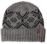 Timberland Fairisle Knit Fitted Beanie