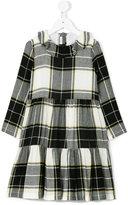 Il Gufo checked dress - kids - Acetate/Cupro/Viscose/Wool - 2 yrs