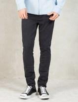 Nudie Jeans Black Pipe Led
