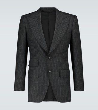 Tom Ford Exclusive to Mytheresa - Atticus pinstriped blazer