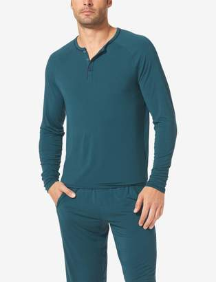 Tommy John Tommyjohn Second Skin Lounge Henley with Piping