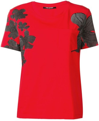 Neil Barrett floral T-shirt
