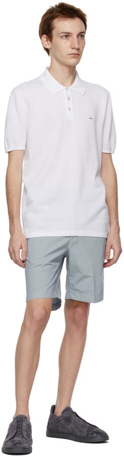 Thumbnail for your product : Ermenegildo Zegna Couture White Essential Short Sleeve Polo