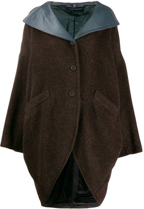 Romeo Gigli Pre Owned 1990's Loose Buttoned Coat