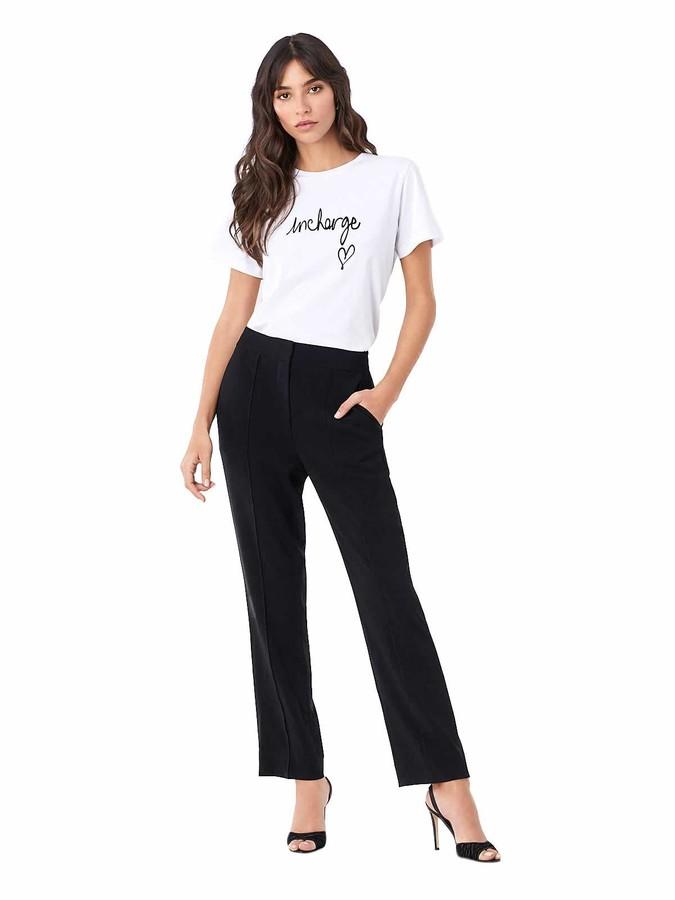 Diane von Furstenberg Women's InCharge Cotton T-Shirt