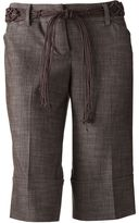 Iz Byer california textured bermuda shorts