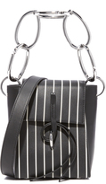 3.1 Phillip Lim Leigh Small Top Handle Bag with Chain