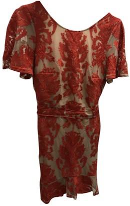 For Love & Lemons Red Cotton Dresses