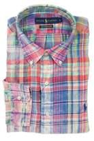 Ralph Lauren Men's Multicolor Cotton Shirt.