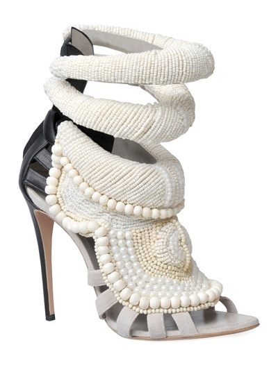 Giuseppe Zanotti Kanye West By 115mm Kanye All Over Beads Sandals