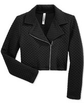 Beautees Quilted Moto Jacket, Toddler & Little Girls (2T-6X)
