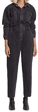 AGOLDE Vianka Button Up Cotton Jumpsuit