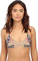 Mara Hoffman Women's Basket Weave Bikini Top