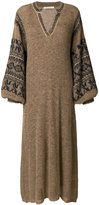 Mes Demoiselles v-neck knitted dress