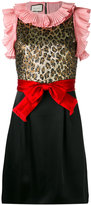Gucci sleeveless bow detail dress - women - Silk/Cotton/Acrylic/Acetate - 42