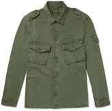 Jean Shop Clinton Herringbone Cotton Jacket