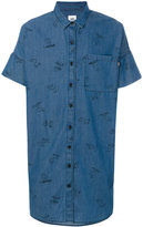 Vans Snoopy print shortsleeved shirt - men - Cotton - S