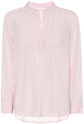 Velvet Eliza crepe shirt