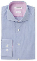 Isaac Mizrahi Striped Slim Fit Dress Shirt