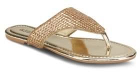 OLIVIA MILLER Flash Forward Embellished Sandals Women's Shoes