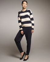 Banded-Ankle Knit Pants