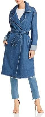 GUESS Denim Trench Coat