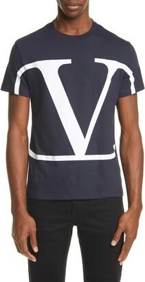 Valentino Logo Crewneck T-Shirt