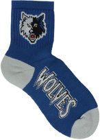 For Bare Feet Minnesota Timberwolves Ankle TC 501 Med Socks