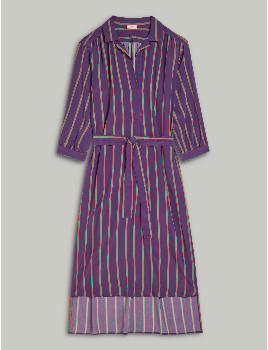 Closed Viscose & Silk Shirt Dress - XS .