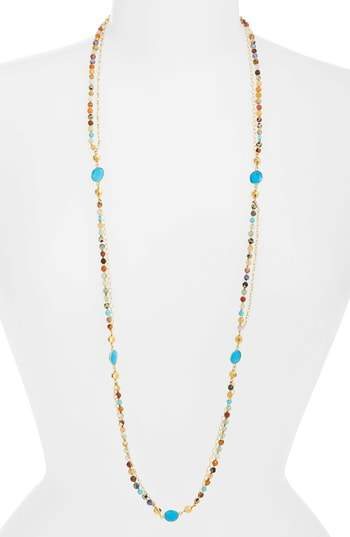 Chan Luu Mixed Bead Layering Necklace