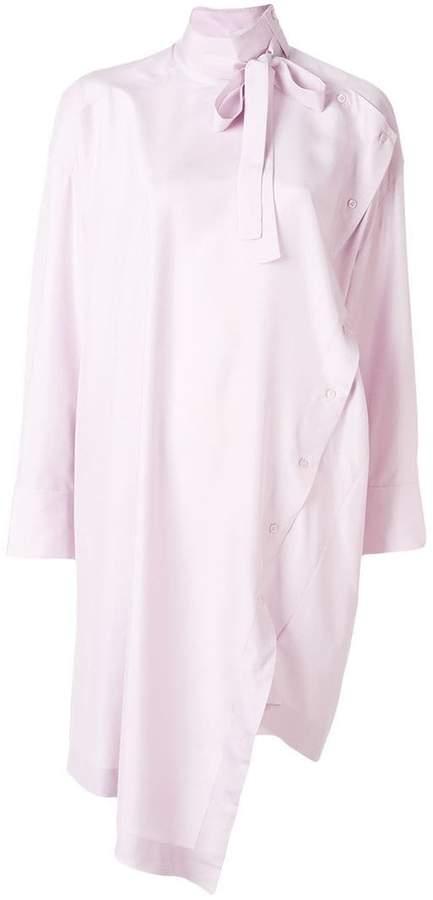 Valentino asymmetric long blouse