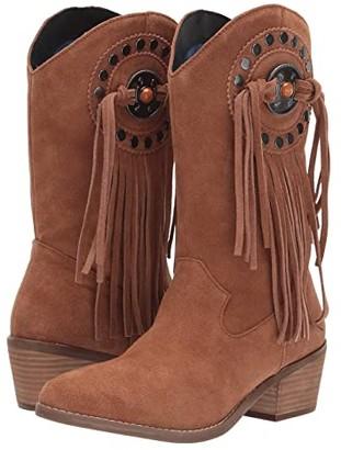 Dingo Takin' Flight (Tan Suede) Cowboy Boots