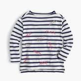 "J.Crew Girls' ""oui/non"" T-shirt"
