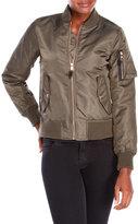 Steve Madden Nylon Bomber Jacket