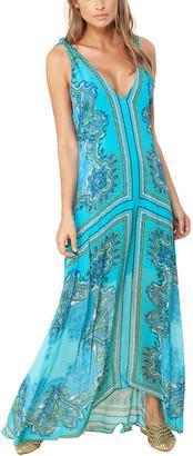 Hale Bob V-Neck Maxi Dress