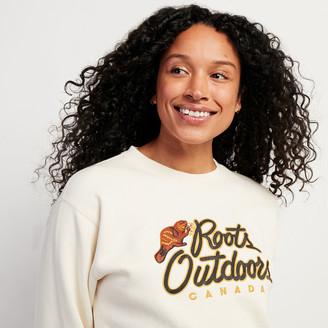 Roots Outdoors Boyfriend Crew Sweatshirt