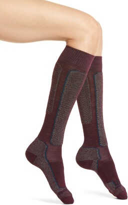 Icebreaker Ski Light Merino Wool Blend Socks