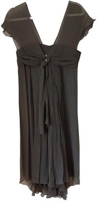 Nicole Farhi Grey Silk Dress for Women